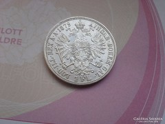 1879 ezüst 1 Florin gyönyörű darab
