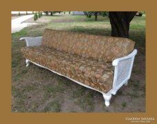 Chippendale nyitható kanapé,garnitúra része