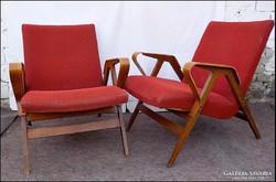 Tátra Nabytok design mid century fotel párban