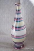 Jelzett iparművész kerámia váza