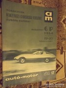 Autó-motor 1964 / 17 -ik szám  !!