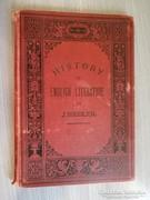 J. Siedle: History of English literature Kiadó: Krüger 1896!