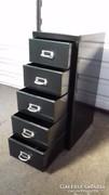 Industrial / Ipari Loft Design 5 fiókos tároló szekrény