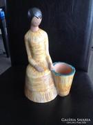 Berkovits Anna kerámia figura