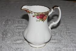 Nagy vizes / tejes kancsó - Royal Albert Old Country Roses