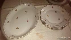 Zsolnay tollazott porcelán vacsorázó készlet