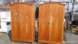 2 db klasszicista stil szekrény