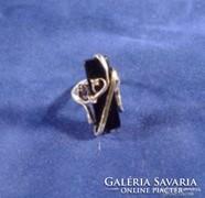 Ónix köves ezüst gyűrű
