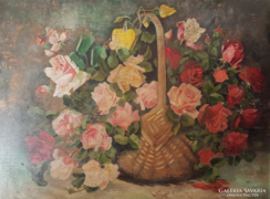 Joseph Schuster virágfestő lánya Adele Schuster festménye