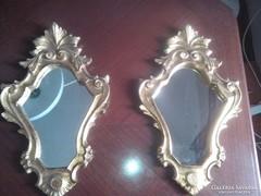 Gyönyörü antik barokk tükör parban elado