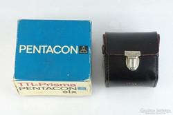 0L159 Pentacon six TTL prisma bőr tok és doboz