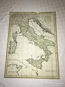 ANTIK ITALIA TÉRKÉP
