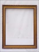 Antik fa képkeret  ,  falc 32,5 x 25  cm.