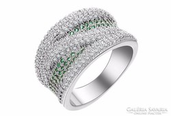 Különlegesen szép ezüst gyűrű 6-os ÚJ!