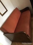 Art deco nagyméretű kanapé
