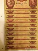 100 forint 1949 10db !!