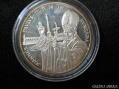 II. János Pál Pápa emlék érem