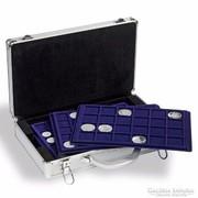 Érmebőrönd 6 db érmetáblával (L-es méret)