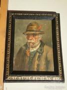 Horváth G. Andor (1876-) : Öreg pipás