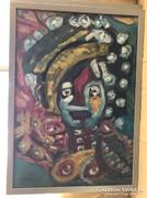 Németh Miklós festménye
