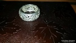 925-ös gyönyörű ezüst gyürű