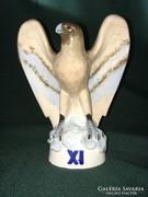 Royal Dux porcelán sas figura 17 cm