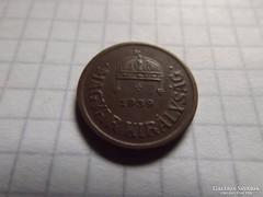 Szép 2 Fillér 1939 !!  ( 6 )