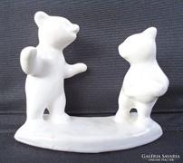 Kerámia táncoló medvék