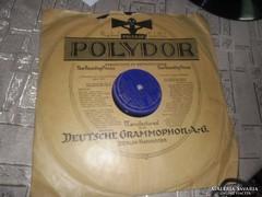 POLYDOR ELECTRICAL RECORDING  GRAMOFON LEMEZ