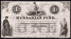 """1852 1 Dollár UNC """"B"""" sor"""