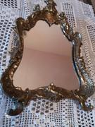 Bronz extra szép fali tükör elado kifogástalan állapotu