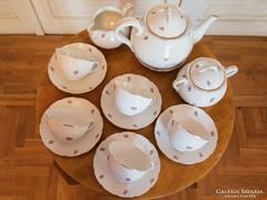 Hiánytalan Meissen porcelán teáskészlet