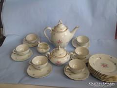 Barokk kávés és süteményes készlet hibátlan és jelzett