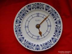 Német Weimar hagymamintás porcelán falióra