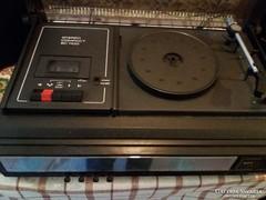 Retró Stereo Zenegép Compact 1100