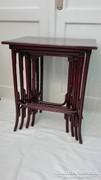 Thonet 4db-os asztal garnitúra