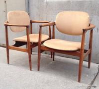 Skandináv design minimal szék pár