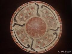 Perzsa tál, 19. század