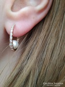 14 K Arany gyöngyös fülbevaló