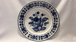 Hollóházi porcelán tányér, dísztányér