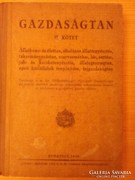 Gazdaságtan II. kötet 1940