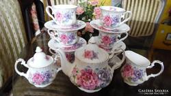 Nostalgic Ceramics  angol 15db-os kávés/teás készlete