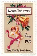 USA karácsonyi emlékbélyeg 1975