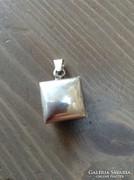 Kézműves fényképtartós ezüst medál