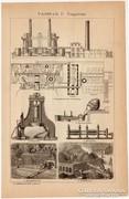 Vasipar, vasgyártás, vasöntés, eredeti nyomat 1892
