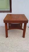 Art Deco kihúzhatós asztal