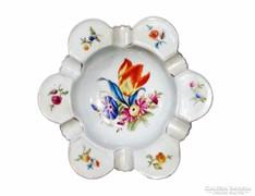 Herendi virágos hamutartó - 1940