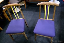 Négy felújított szék
