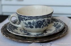 Bristol Crown Ducal angol teás csésze szett
