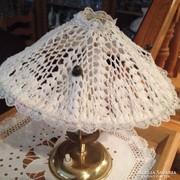 Asztali lámpa - csipke burával - régiség